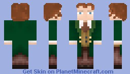 The Eighth Doctor (Paul McGann) Minecraft Skin