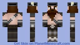 Dwarf - My Second Shaded Skin Minecraft Skin