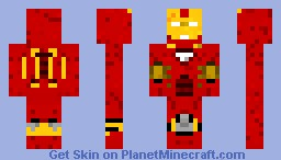 Iron Man [Full Suit] Minecraft Skin