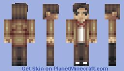 The 11th Doctor | Matt Smith Minecraft Skin