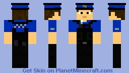 Police Community Support Officer (PSCO Stab-Proof) Minecraft Skin