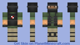 UBCS_Karl's Personal Skin Minecraft Skin