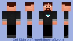 Tony Stark [No Suit] Minecraft Skin