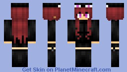 Ender girl (◍•ᴗ•◍)❤ Minecraft Skin