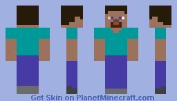 The Amazing Steve! Minecraft Skin