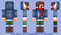 Getting Ready for Winter (An Attempt at a New Shading Style) Minecraft Skin