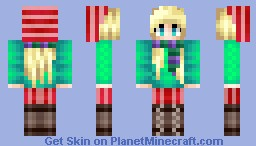 It's raining outside [Pop n reel!! Yay!!] Minecraft Skin