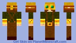 Steampunk Enginner Minecraft Skin