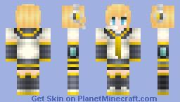☆Foru☆ Kagamine Len Minecraft Skin