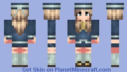 She's a Sailor! Minecraft Skin