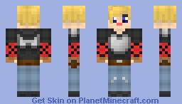 RWBY: Jaune Arc Minecraft Skin
