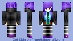 ~Me skin!~ ~Darth Vader Hoodie~ Minecraft Skin