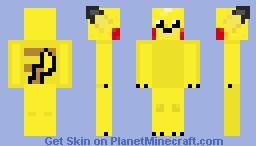 Pikachu! Minecraft Skin