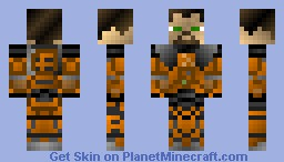 Gordon Freeman Half Life 1 Minecraft Skin