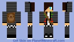 teenage boy with backpack SWAG (2) Minecraft Skin