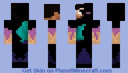Ender Corrupted Herobrine Minecraft Skin