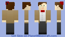 11th Doctor - Matt Smith (Request for xXStarFox641Xx) Minecraft Skin