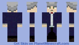 Dr who the 12th dr Minecraft Skin