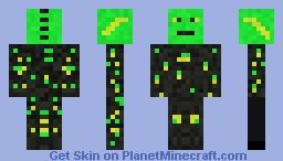 Data Miner Minecraft Skin