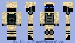 Ender Soldier Minecraft Skin