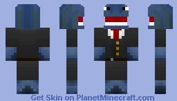 Fancy Whale (Request for WhalesAreSwag) Minecraft Skin