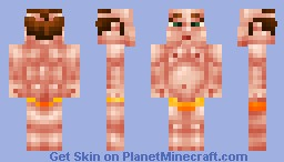 -{Naked Fat Guy 2}- Minecraft Skin
