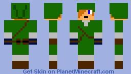 Green Link Minecraft Skin