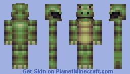 Lizard Sorta Thing Minecraft Skin