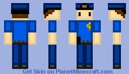 Peter the Policeman - NPC Series Minecraft Skin