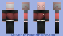 Captain Picard, ST TNG /  -Alternate Timeline - Minecraft Skin