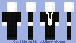 The Slenderman - My version of the odd thing that is the slenderman.