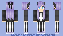 [550 Subs] Marie [Hair shading test] Minecraft Skin