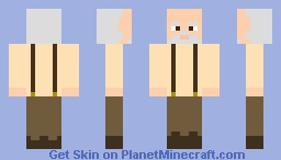 R.I.P Hershel Minecraft Skin