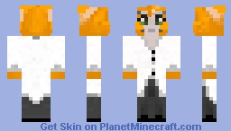 Stampylongnose Skin Minecraft Skin