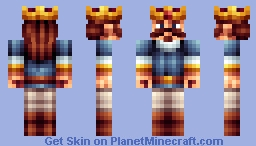 Royal -FSP [ Old Skin battle with Gopher_tuna] Minecraft Skin