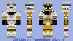 Star Wars 327th Star Corps Skin Minecraft Skin