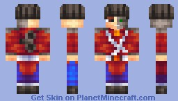 Guardian of Christmas and Holiday Spirit (Non-Robot in Descrip.) [Contest - 42nd Place] Minecraft Skin