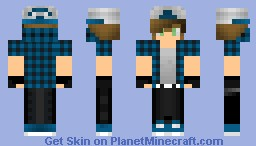 Datsik - The Dubstep Artist Minecraft Skin