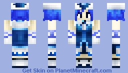 Juvia Lockser (Ready for Some More Fairy Tail!) Minecraft Skin