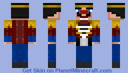 Nutcracker [Contest] Minecraft Skin