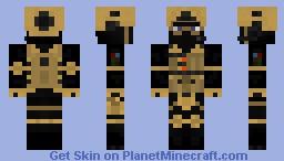MW2 Shadow Company Minecraft Skin
