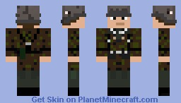 Waffen SS Schutze Minecraft Skin