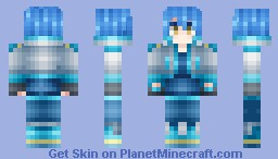 DMMd - Aoba Seragaki Minecraft Skin
