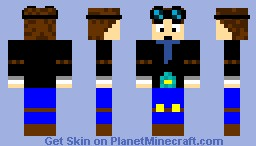 DAN TDM Minecraft Skin
