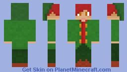 Isaac the Elf Minecraft Skin