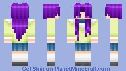 Kyou Fujiyabashi [CLANNAD SERIES] Minecraft Skin