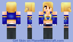 Lucy Heartfilia (Ready for Some More Fairy Tail!) Minecraft Skin
