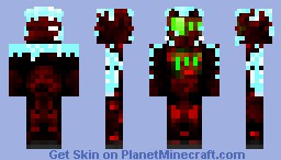 Santa's V1 Elf-stronaut Minecraft Skin
