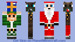 The Christmas in One! Minecraft Skin