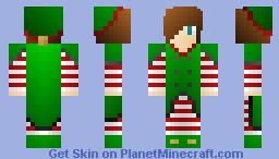 Steven the Elf Minecraft Skin